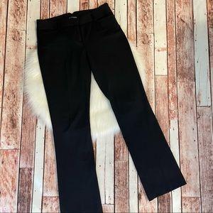 Express Pants Trousers Black Formal Slacks Size 8
